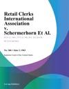Retail Clerks International Association V Schermerhorn Et Al