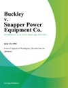 Buckley V Snapper Power Equipment Co