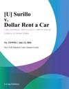 U Surillo V Dollar Rent A Car