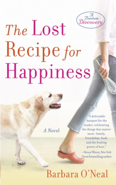 The Lost Recipe for Happiness - Barbara O'Neal book cover
