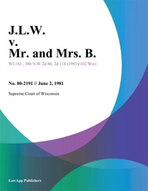 J.L.W. V. MR. AND MRS. B.