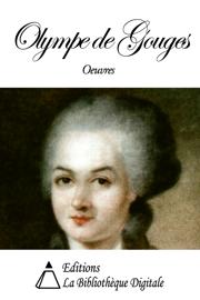 Oeuvres de Olympe de Gouges