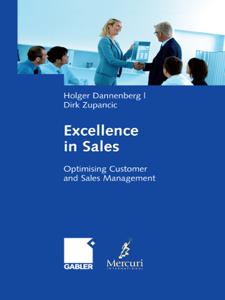 Excellence in Sales La couverture du livre martien