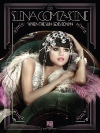 SELENA GOMEZ & THE SCENE - WHEN THE SUN GOES DOWN (SONGBOOK)