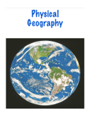 Physical Geography of the World