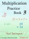 Multiplication Practice Book 3 Grades 4-5