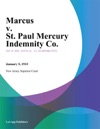 Marcus V St Paul Mercury Indemnity Co