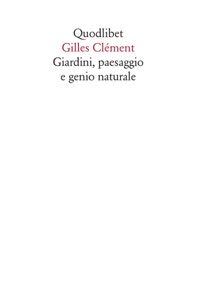 Giardini, paesaggio e genio naturale Book Cover