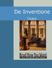 Download and Read Online De Inventione