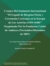 IV Congreso Internacional De La Sociedad Espanola De Estudios Del Siglo XVIII La Epoca De Carlos IV 1788-1808