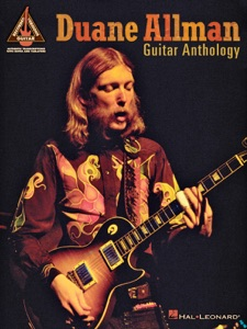 Duane Allman Guitar Anthology (Songbook) Book Cover