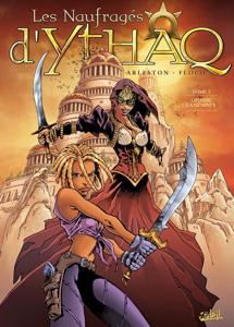 Les Naufragés d'Ythaq T02 La couverture du livre martien