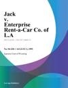 Jack V Enterprise Rent-A-Car Co Of LA