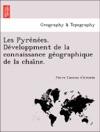 Les Pyrenees Developpment De La Connaissance Geographique De La Chaine