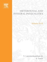 Differential And Integral Inequalities; Theory And Applications PART B: Functional, Partial, Abstract, And Complex Differential Equations (Enhanced Edition)