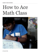 How to Ace Math Class