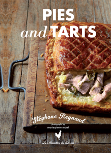 Stephane Reynaud's Pies and Tarts La couverture du livre martien
