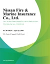 Nissan Fire  Marine Insurance Co