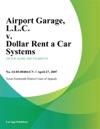Airport Garage LLC V Dollar Rent A Car Systems
