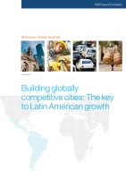 Building Globally Competitive Cities: The Key to Latin American Growth