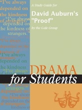 A Study Guide For A Study Guide For David Auburn's