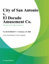 City Of San Antonio V El Dorado Amusement Co