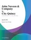 John Nuveen  Company V City Quincy