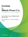 German V Illinois Power Co