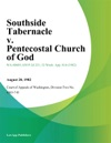 Southside Tabernacle V Pentecostal Church Of God