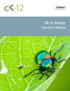 CK-12 Biology Teacher's Edition Book Review