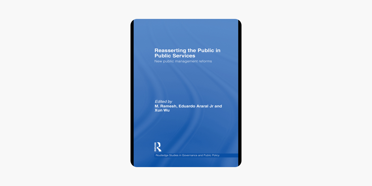 Reasserting The Public In Public Services On Apple Books
