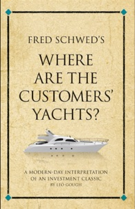 Fred Schwed's Where are the Customers' Yachts? Book Cover