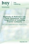 Mahindra  Mahindra Ltd - Farm Equipment Sector Acquisition Of Jiangling Tractor Company