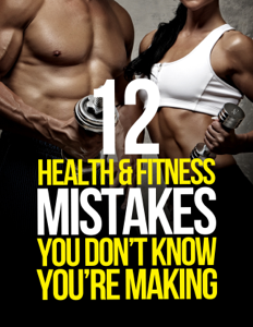 12 Health & Fitness Mistakes You Don't Know You're Making Book Review
