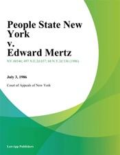 Download People State New York v. Edward Mertz
