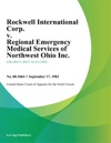 Rockwell International Corp V Regional Emergency Medical Services Of Northwest Ohio Inc