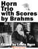 Horn Trio By Brahms With Scores