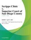 Scripps Clinic V Superior Court Of San Diego County
