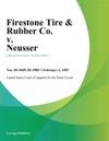 Firestone Tire  Rubber Co V Neusser