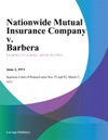 Nationwide Mutual Insurance Company V Barbera