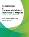 Bonenberger V Nationwide Mutual Insurance Company