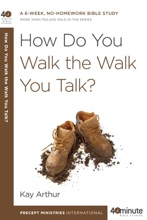 How Do You Walk the Walk You Talk?