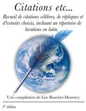 Citations etc...