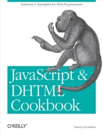 Javascript Dhtml Cookbook