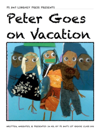 Peter Goes On Vacation book