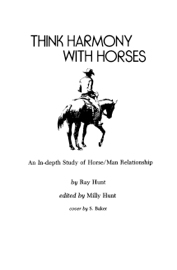 Think Harmony With Horses book