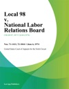 Local 98 V National Labor Relations Board