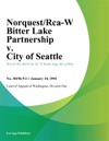 NorquestRca-W Bitter Lake Partnership V City Of Seattle