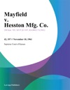 Mayfield V Hesston Mfg Co