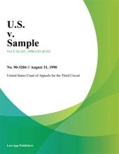U.S. V. Sample